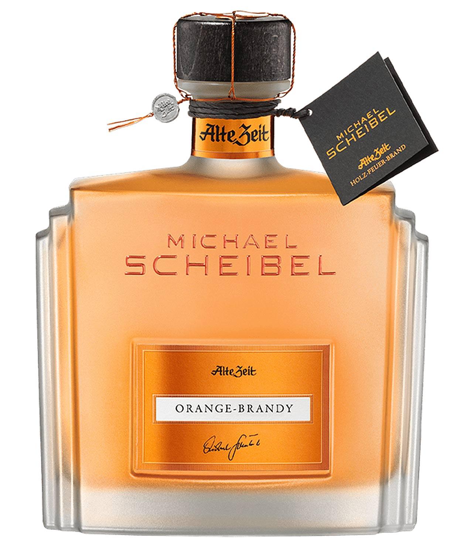 Michael Scheibel Alte Zeit Orange Brandy