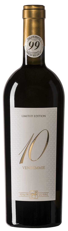 Italienischer Weißwein Tenuta Ulisse 10 Vendemmie Limited Edition