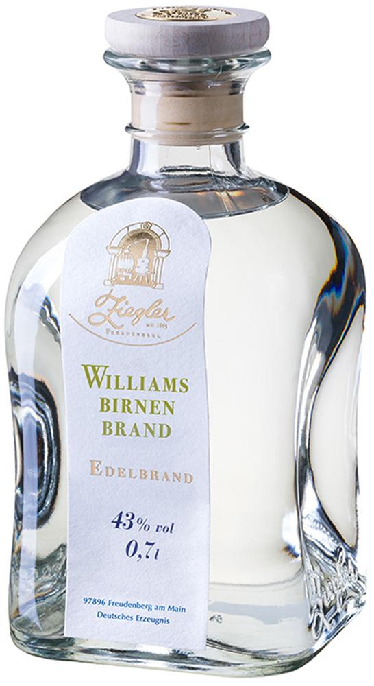Ziegler Williams Birnen Brand 0,35 l.