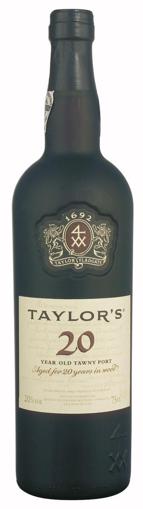 Portwein Taylor's Tawny 20 Years Port