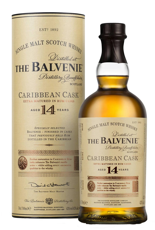 Schottischer Whisky The Balvenie Caribbean Cask 14