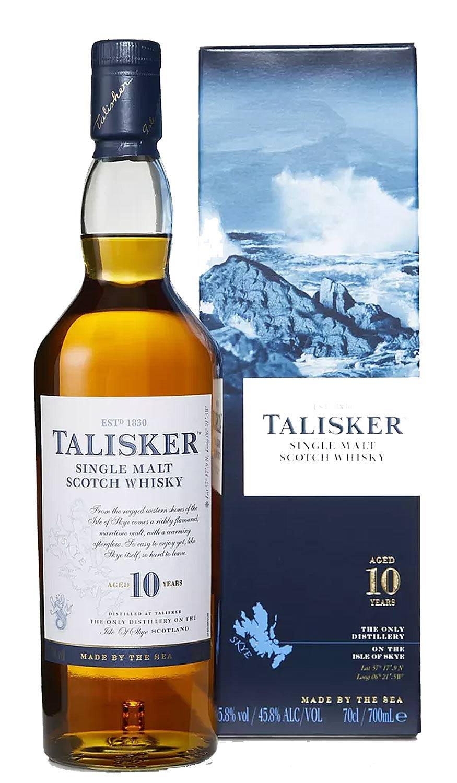 Schottischer Whisky Talisker Single Malt Scotch Whisky 10 Years