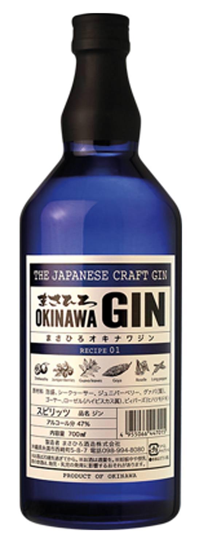 Japanischer premium Gin Okinawa Gin