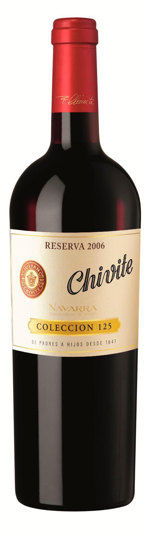 Chivite Coleccion 125 Navarra Reserva 2010