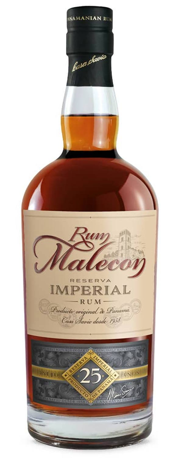 Panama Rum Malecon Reserva Imperial 25 Years Old