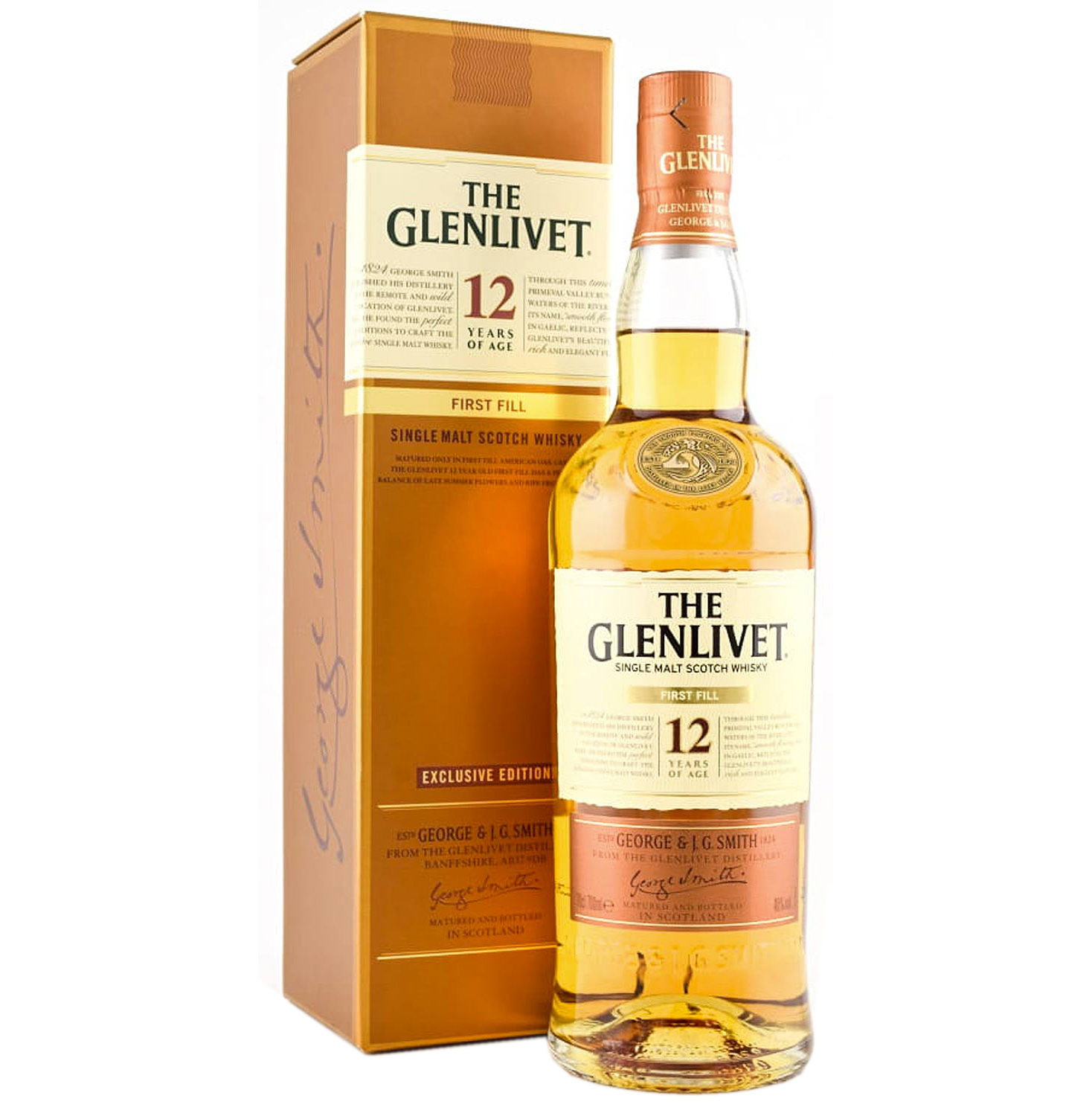 Whisky The Glenlivet 12 Years First Fill