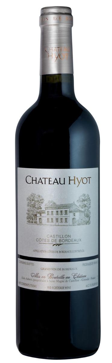 Chateau Hyot Castillon Cotes de Bordeaux 2018