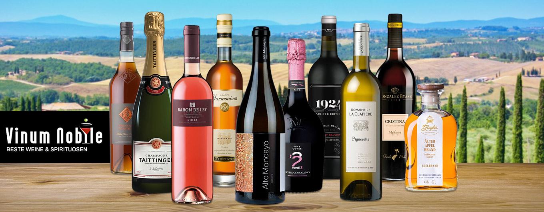 Beste Weine & Spirituosen bei Vinum Nobile