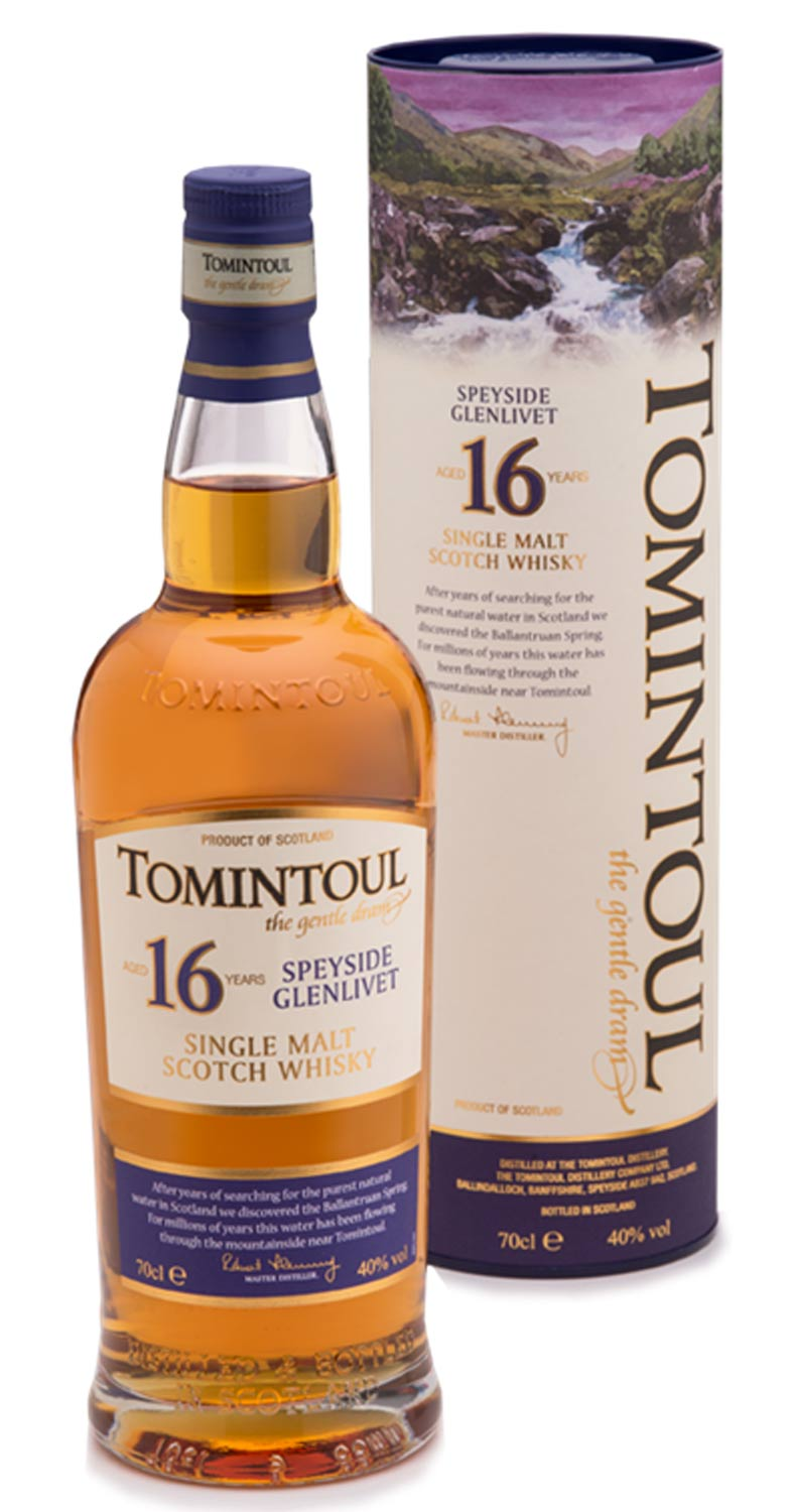 Tomintoul 16 Whisky