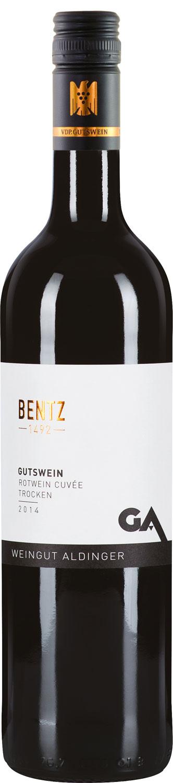 Weingut Aldinger Bentz Rot Cuvee trocken 2018