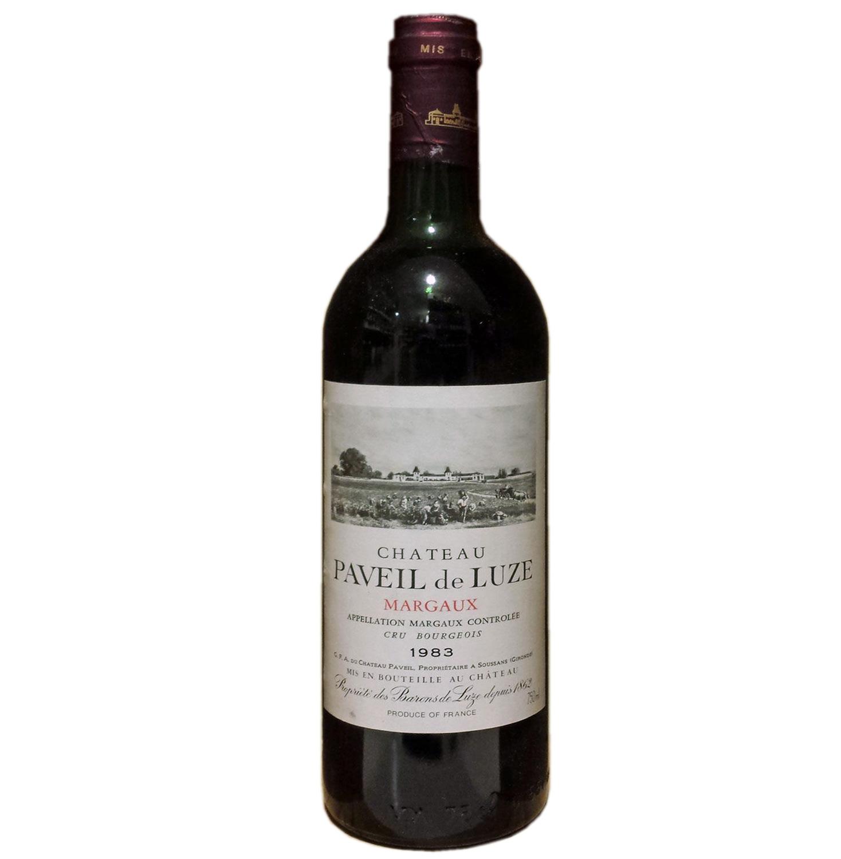 Französischer Rotwein Chateau Paveil de Luze Cru Bourgeois App