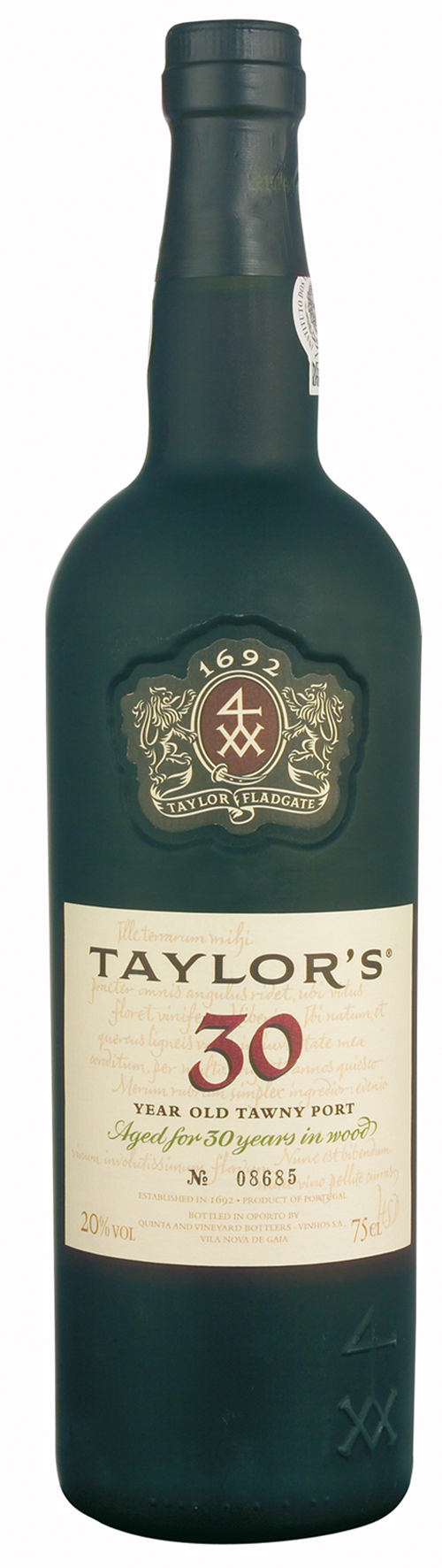 Portwein Taylor´s Tawny 30 Years Port