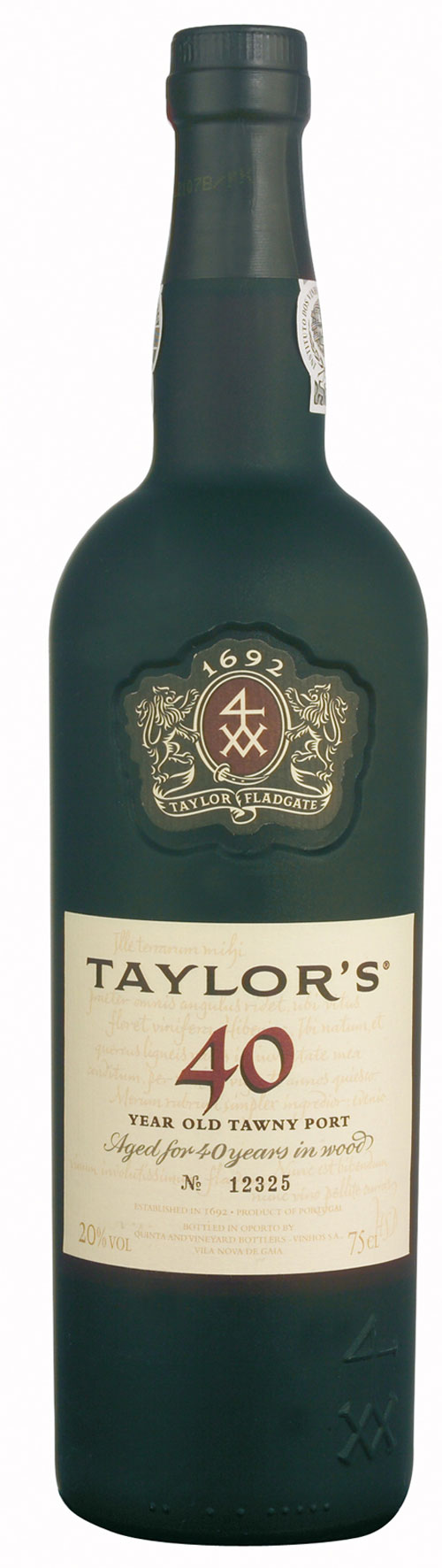 Portwein Taylor´s Tawny 40 Years Port
