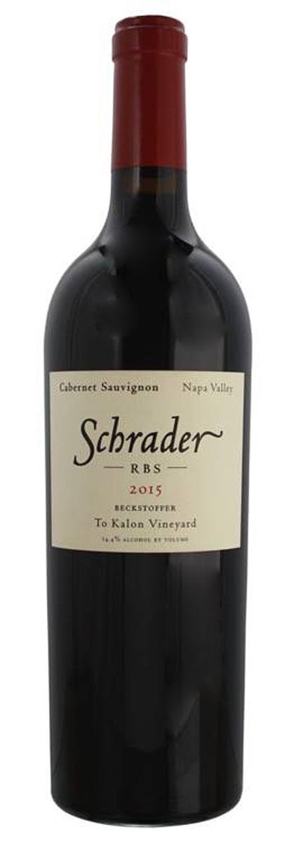 Schrader Cabernet Sauvignon RBS 2015