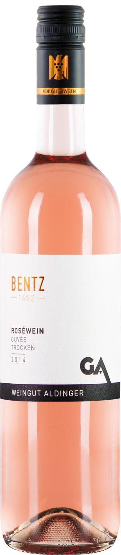 Weingut Aldinger Bentz Rosewein Cuvee trocken 2018