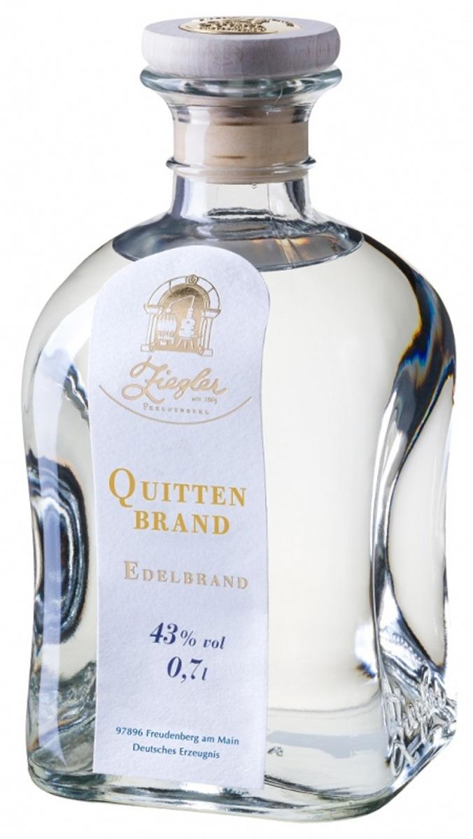 Ziegler Quitten Brand 0,35 l.