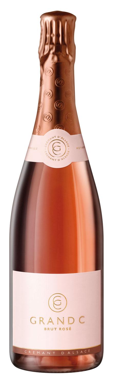 Grand C Brut Rose Cremant d'Alsace