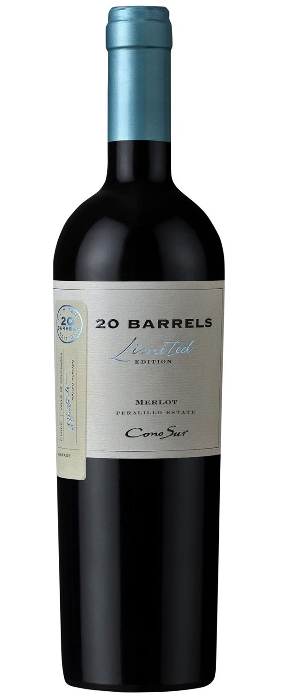 Cono Sur 20 Barrels Limited Edition Merlot 2016