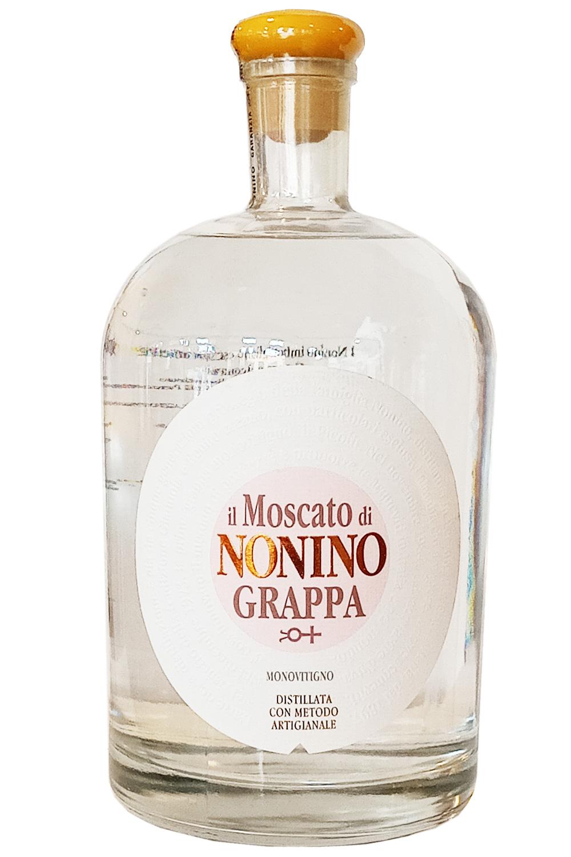 Grappa il Moscato di Nonino Monovitigno 2,0l.