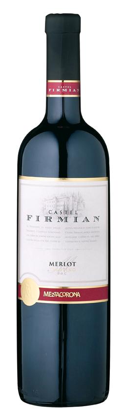 Castel Firmian Merlot Trentino 2019