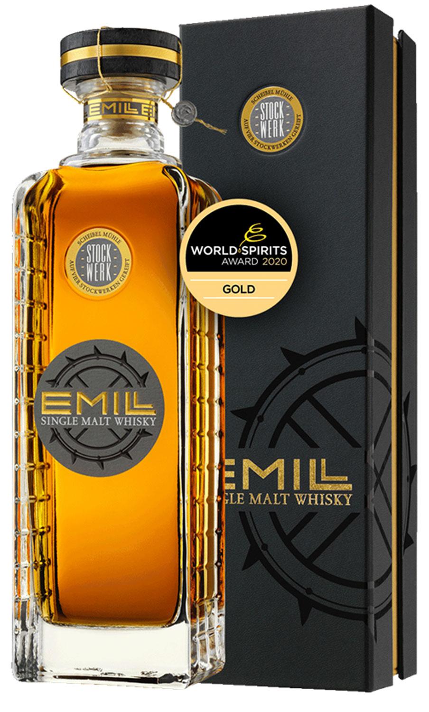 Scheibel Stockwerk EMILL Single Malt Whisky