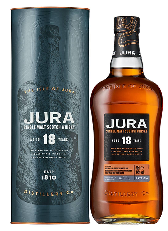 Jura Single Malt Scotch Whisky 18 Years Old