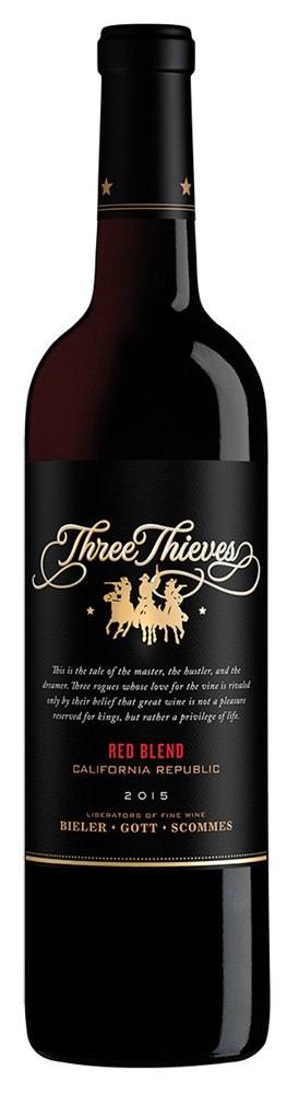 Three Thieves Red Blend 2015
