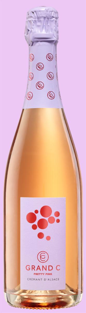 Grand C Pretty Pink Cremant d'Alsace