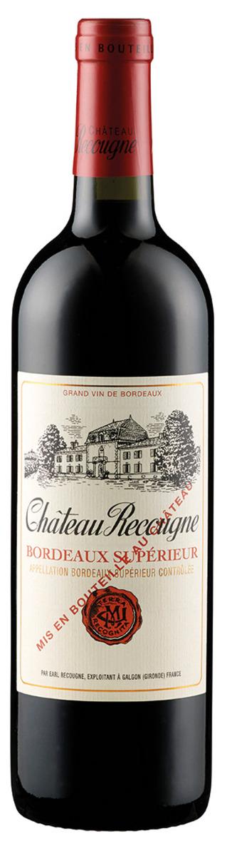 Chateau Recougne Bordeaux Superieur 2016