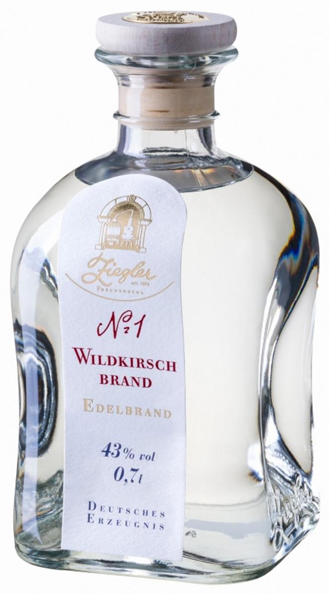 Ziegler Nr. 1 Wildkirsch 0,35 l.