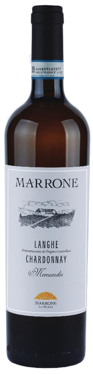 Marrone Langhe Chardonnay Memundis 2018