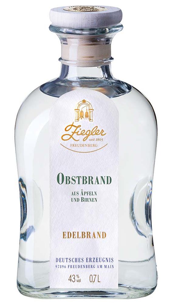 Ziegler Obstbrand 0,35l.