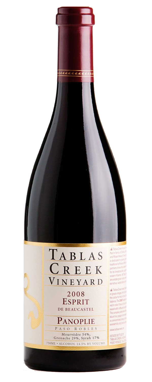 Panoplie 2008 Tablas Creek Vineyard Esprit de Beaucastel