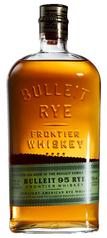 Kentucky Straight American Bulleit 95 Rye Frontier Whiskey