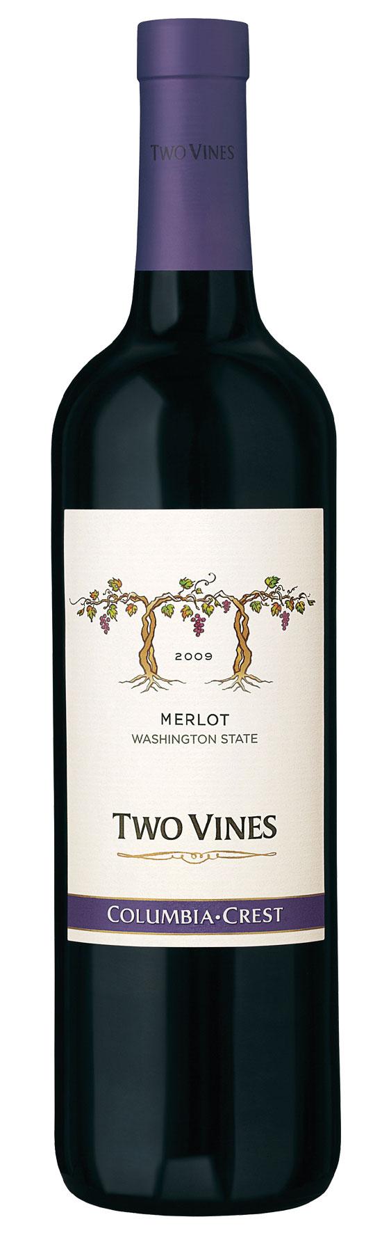 Columbia Crest Two Vines Merlot 2017
