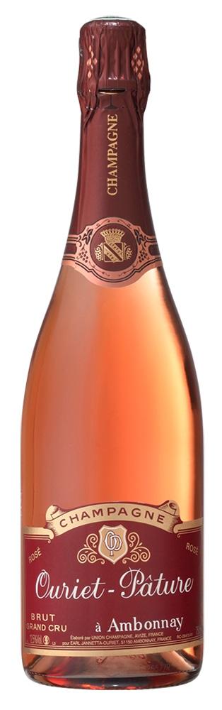 Ouriet Pature Champagne Brut Grand Cru Rose Magnum
