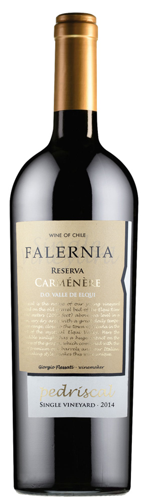 Falernia Reserva Carmenere Pedriscal 2016