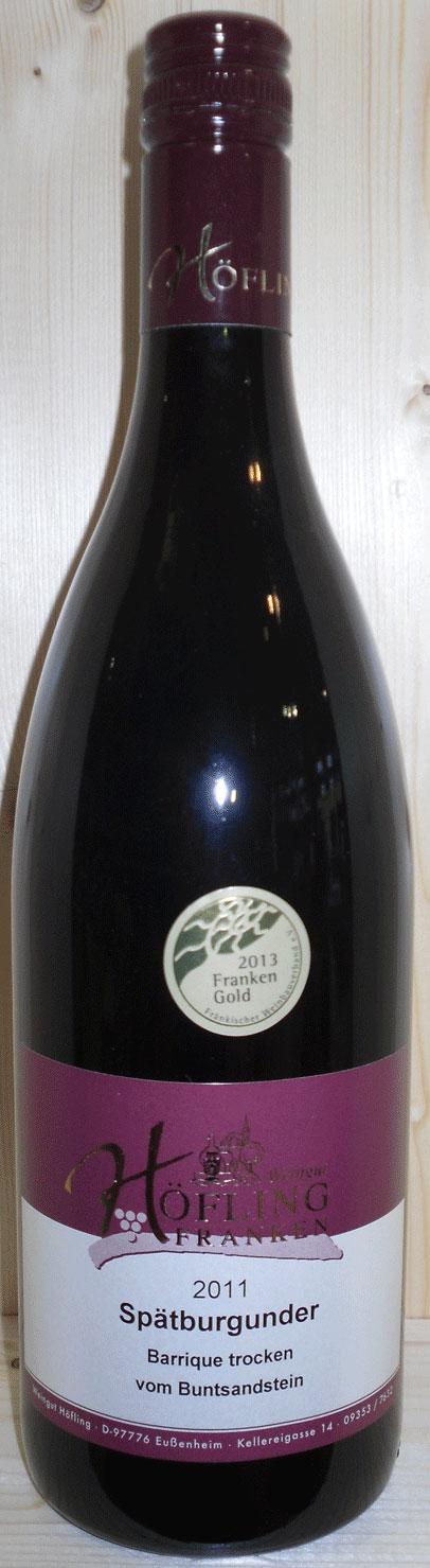 Weingut Höfling Domina trocken 2008 Stettener Stein