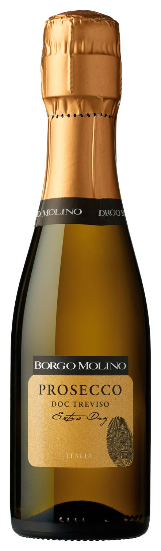 Borgo Molino Prosecco DOC Treviso Extra Dry (Piccolo 0,2 Liter)