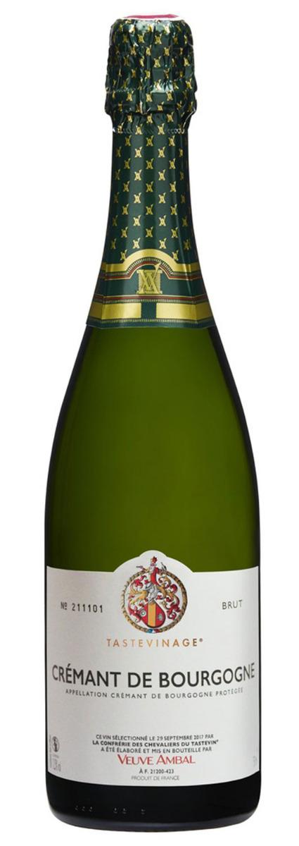 Tastevinage Crémant de Bourgogne Veuve Ambal