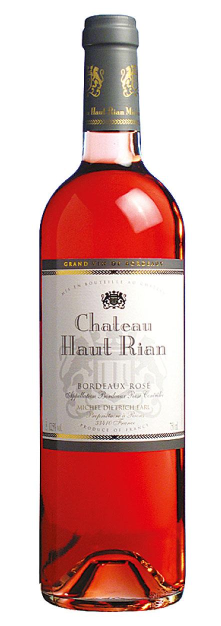 Chateau Haut Rian Bordeaux Rose 2019