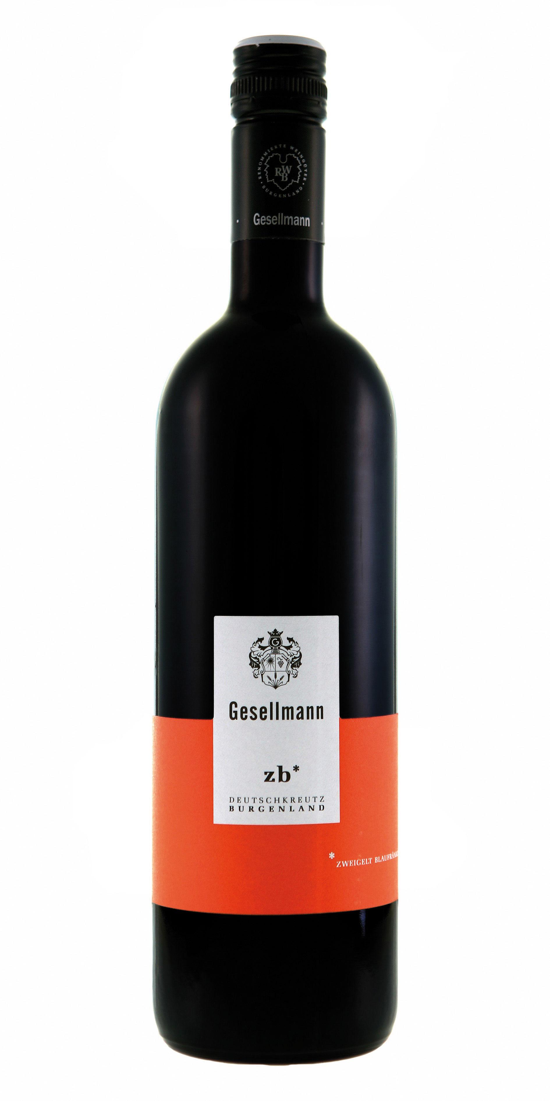 Weingut Gesellmann ZB Zweigelt Blaufränkisch 2018