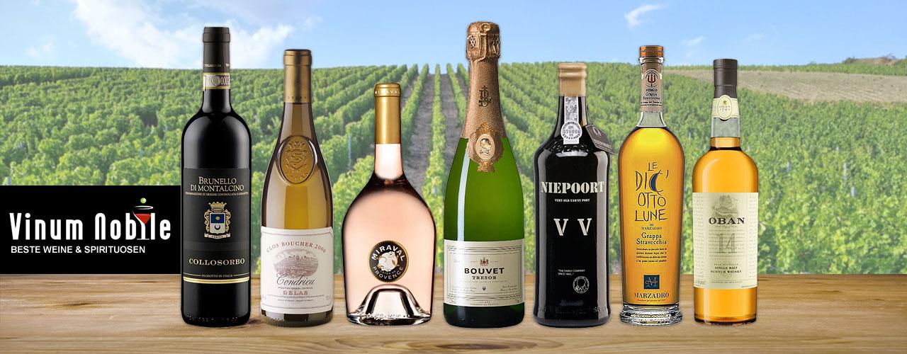Bester Wein & Spirituosen bei Vinum Nobile