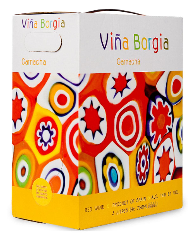 Vina Borgia Garnacha BIB 3,0 l.