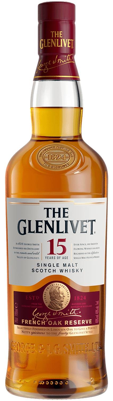 Schottischer Whisky The Glenlivet 15 Years