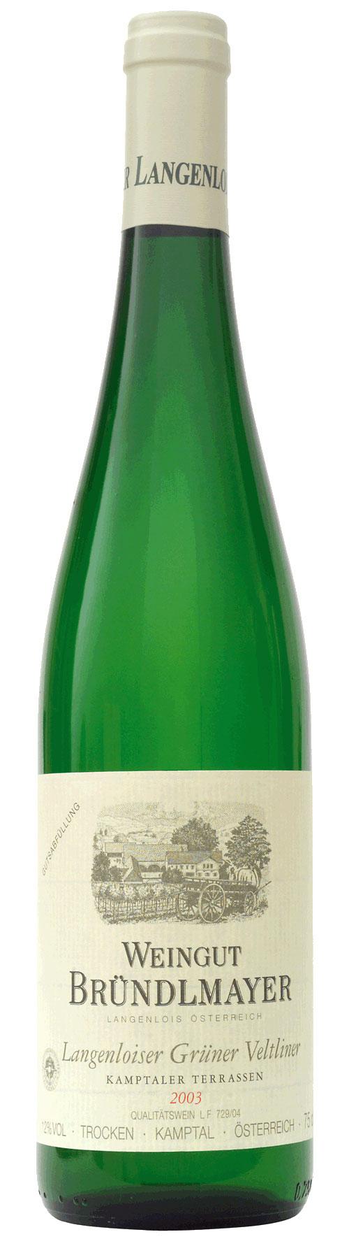 Weingut Bründlmayer Kamptal Grüner Veltliner Terrassen 2019