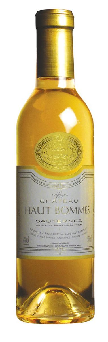 Chateau Haut Bommes Sauternes 2012