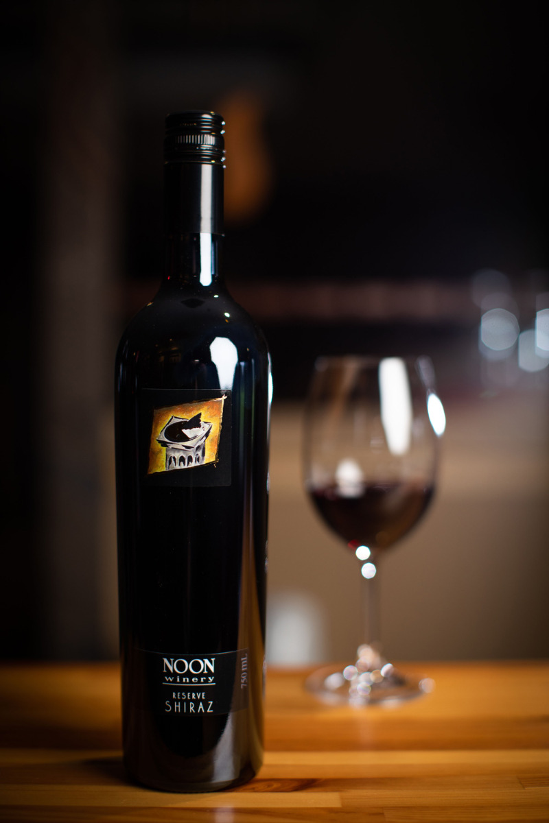 Noon Winery Shiraz Reserve  2018