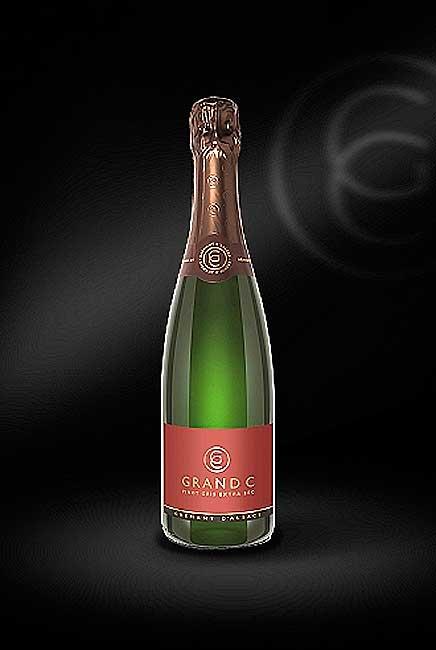 Grand C Pinot Gris Extra Sec Cremant d'Alsace