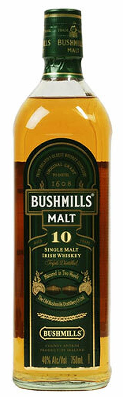 Bushmills Single Malt Irish Whiskey 10 Year